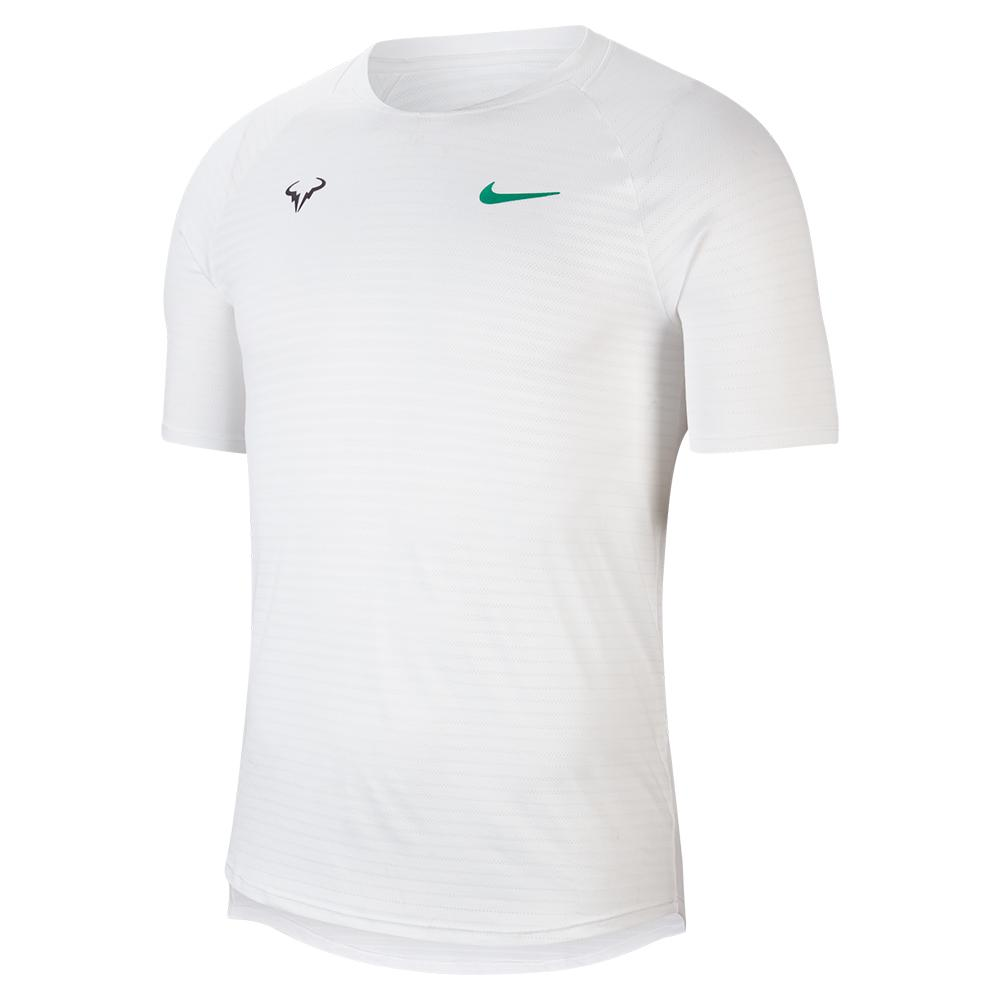 Men's Rafa Court Slam Aeroreact Short Sleeve Tennis Top