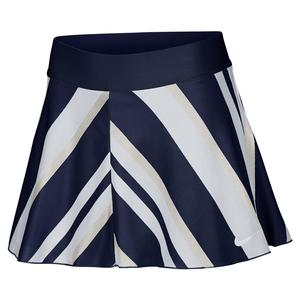 Women`s Court Tall Flouncy Printed Tennis Skort