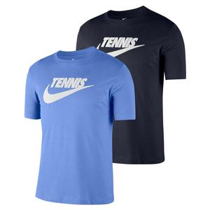 Men`s Court Dri-Fit Graphics Tennis Tee
