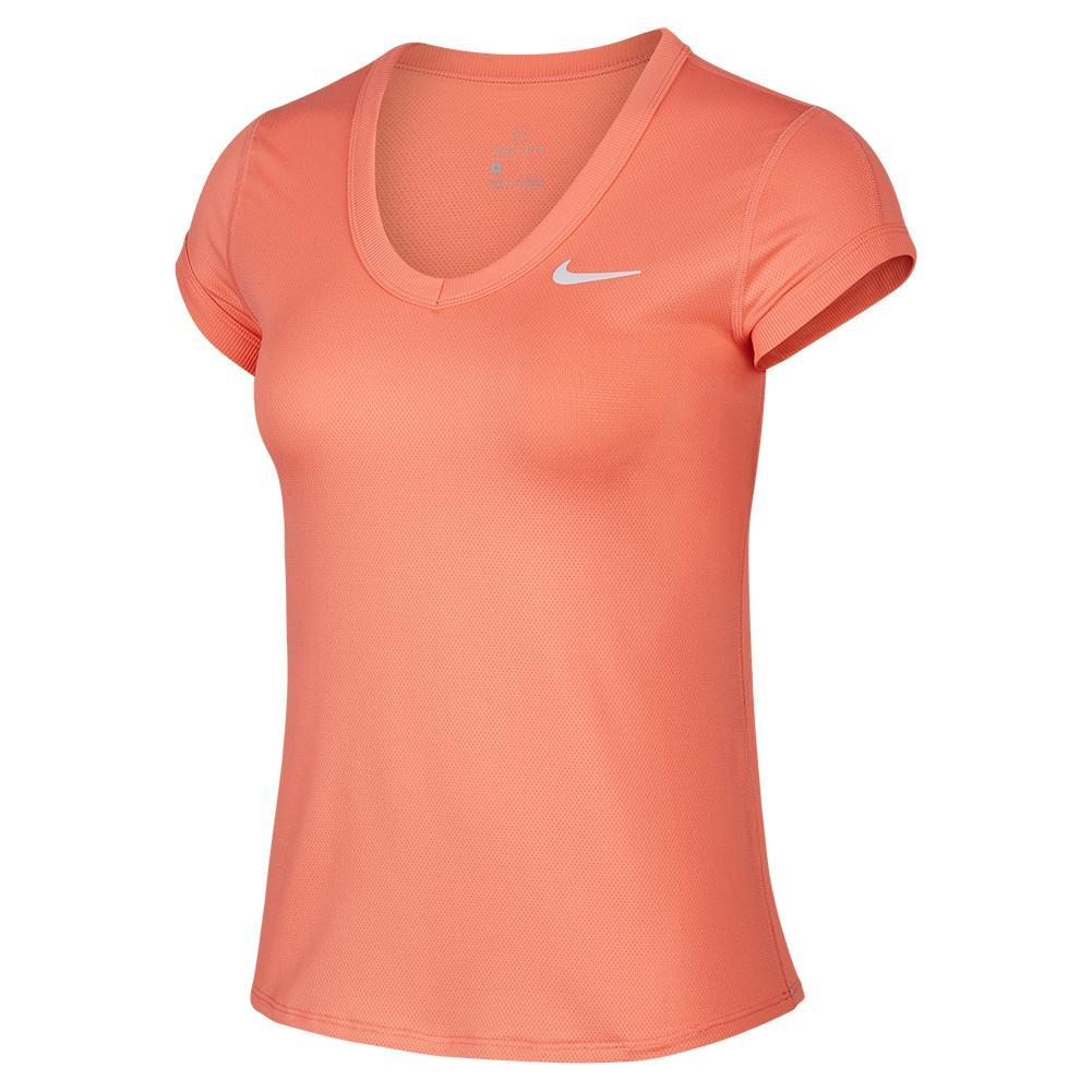 Women's Court Dry Short Sleeve Tennis Top