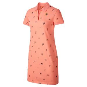Women`s Court Print Tennis Polo Dress
