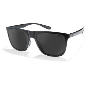 Boone Polarized Sunglasses Matte Black and Dark Grey