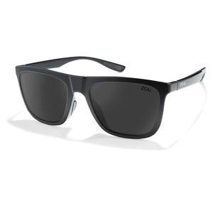Boone Polarized Sunglasses Matte Black and Dark Grey
