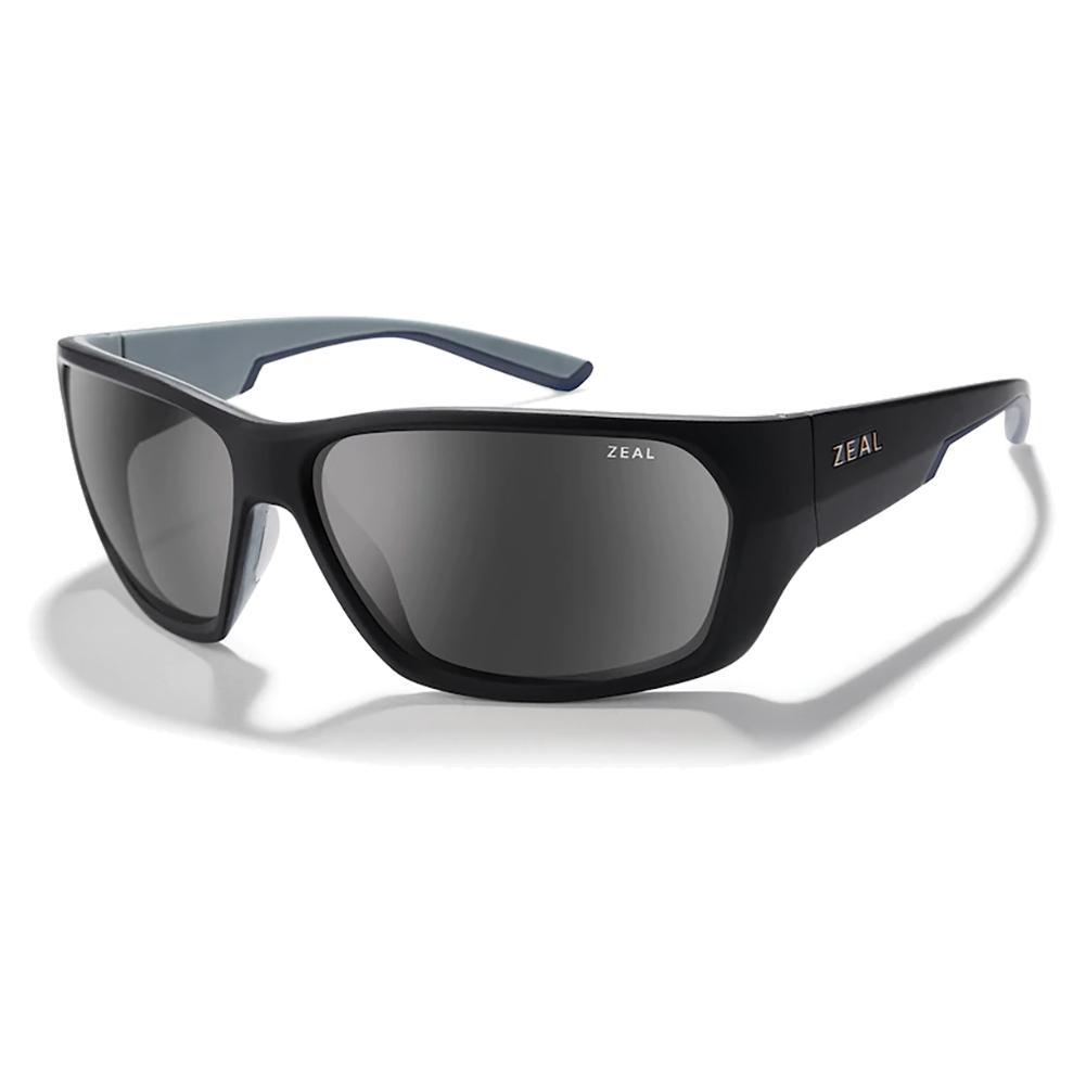 Caddis Polarized Sunglasses Matte Black And Dark Grey