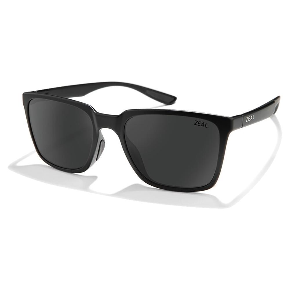 Campo Polarized Sunglasses Matte Black And Dark Grey