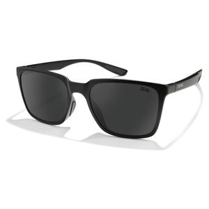 Campo Polarized Sunglasses Matte Black and Dark Grey