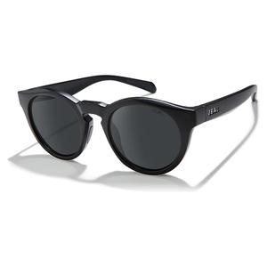 Crowley Polarized Sunglasses Matte Black and Dark Grey