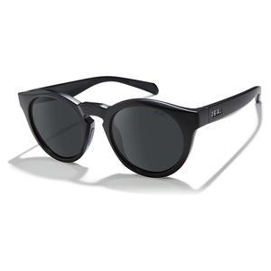 Crowley Polarized Sunglasses Matte Black and Dark Grey
