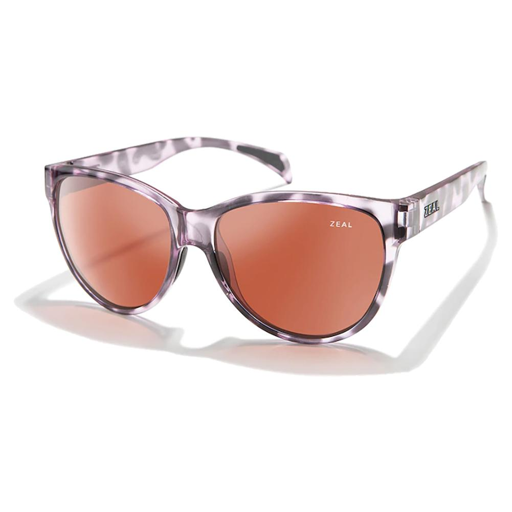 Isabelle Polarized Sunglasses Lilac Tortoise And Rose