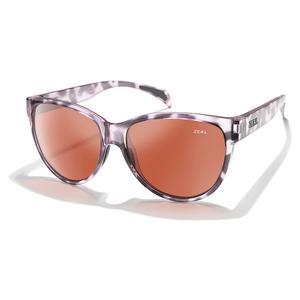 Isabelle Polarized Sunglasses Lilac Tortoise and Rose