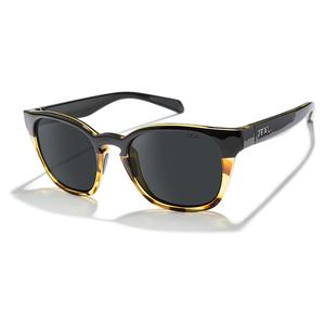 Windsor Polarized Sunglasses Matte Black Tortoise and Dark Grey
