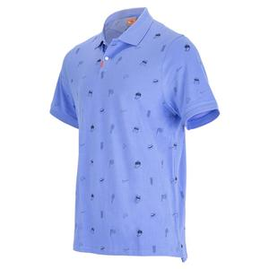 Men`s Court Veneer Standard Tennis Polo