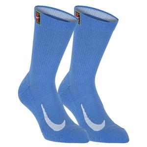 Court Multiplier Cushioned Tennis Crew Socks