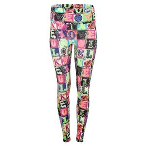 Women`s Hi-Lucky Lane Tennis Legging Multicolor