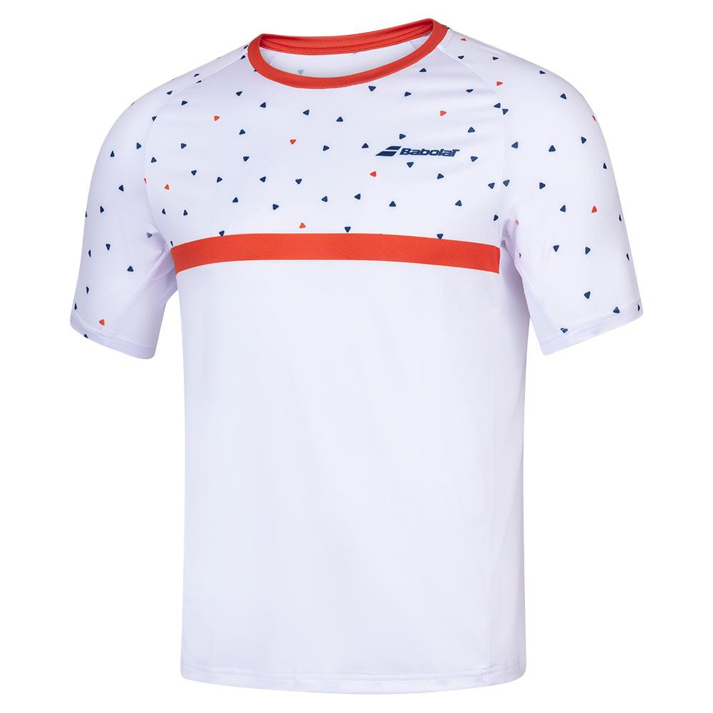 Men's Compete Crew Neck Tennis Tee