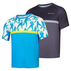 Men`s Compete Crew Neck Tennis Tee