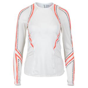 Women`s Amour Contour Long Sleeve Tennis Top White
