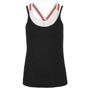 Women`s Breeze Bralette Tennis Cami Black
