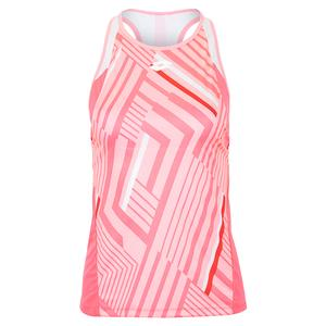 Women`s Top Ten Print Tennis Tank