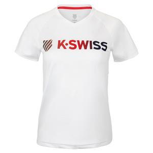 Women`s Heritage Sport Logo Tennis Tee