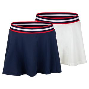 Women`s Heritage Sport Pleated 13 Inch Tennis Skort