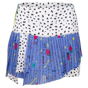 Women`s Hi-Miami Pop Pleated Tennis Skort