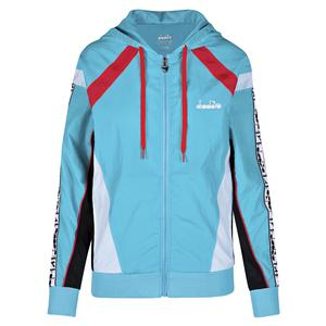 Women`s L. Full Zip Hooded Tennis Jacket