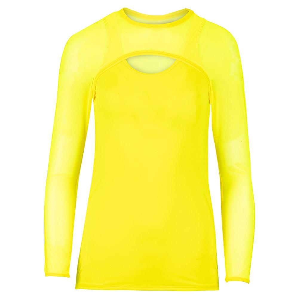 Women's Delano Mesh Long Sleeve Tennis Top