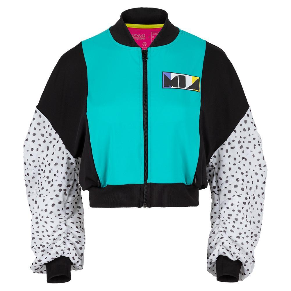 Women's Mia Cropped Tennis Bomber Jacket
