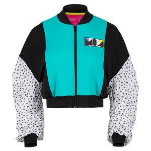 Women`s MIA Cropped Tennis Bomber Jacket