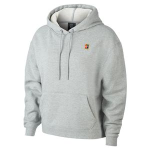 Women`s Court Heritage Tennis Hoodie Dark Grey Heather