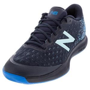 Men`s FuelCell 996v4 D Width Clay Tennis Shoes Pigment and UV Blue
