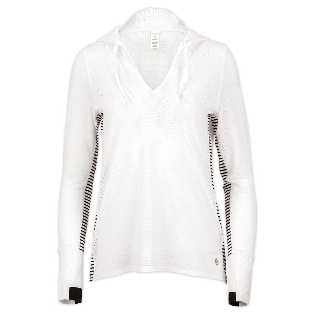 Women's Cutting Edge Tennis Hoodie White