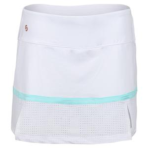 Women`s Cutting Edge Tennis Skort White