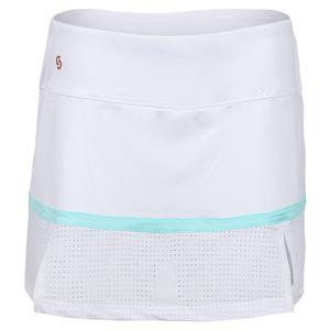 Women`s Cutting Edge Tennis Skort White