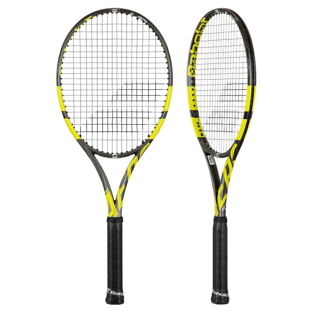 Pure Aero Vs Demo Tennis Racquet Chrome Yellow