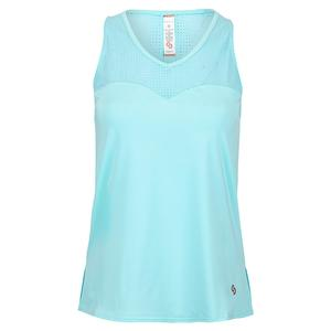 Women`s Cutting Edge Tennis Tank Sea Glass