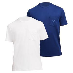 Men`s Rafa Court Essential Short Sleeve Tennis Top