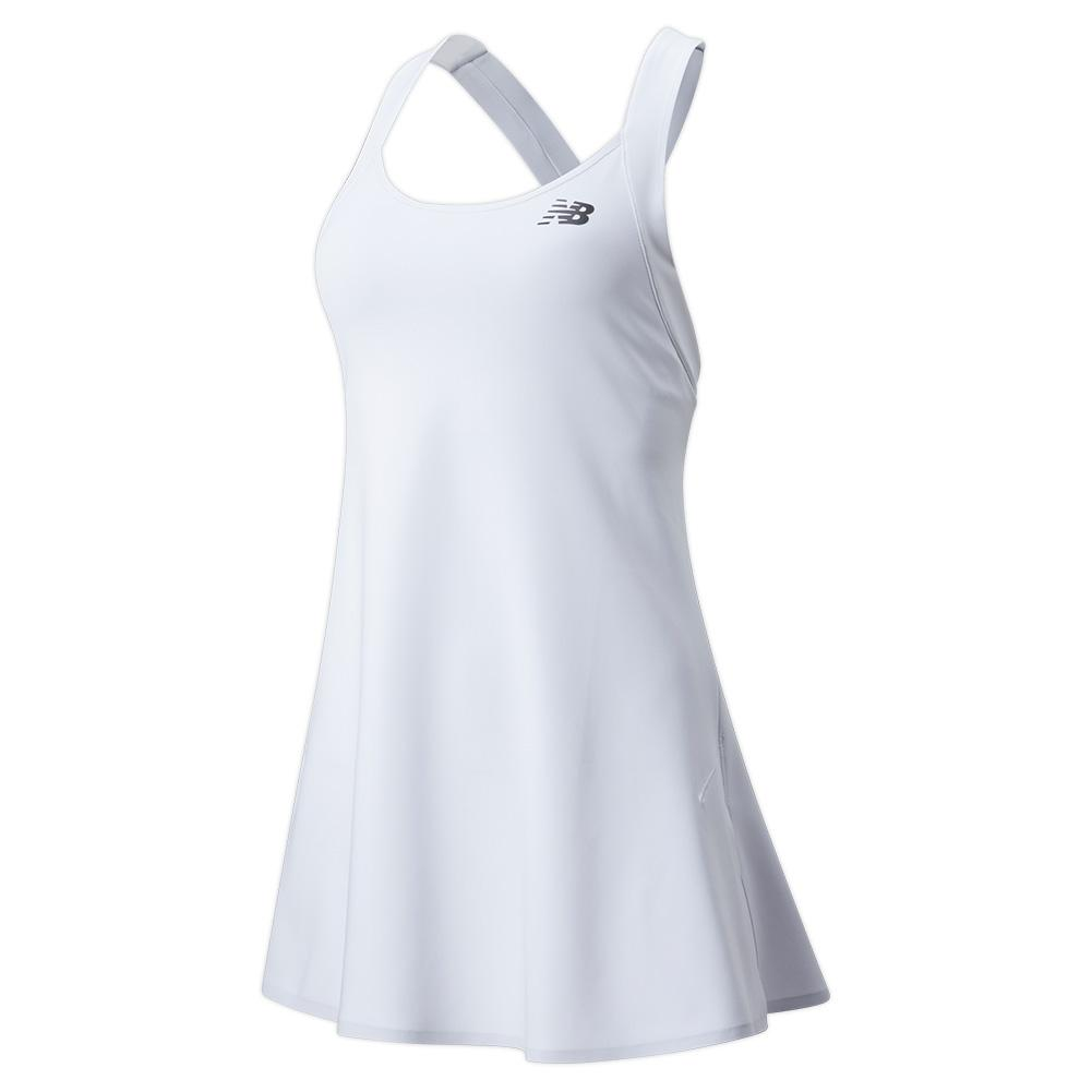 Women's Tournament Tennis Dress White