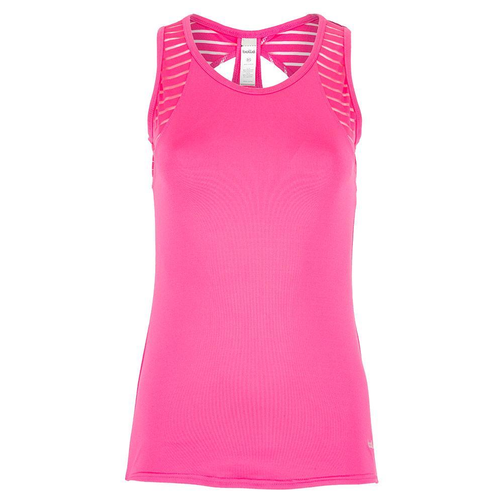 Women's English Rose Tennis Tank Pink Passion