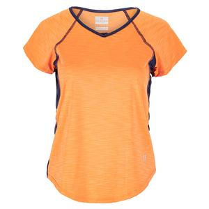 Women`s Peeky Tee Tennis Cap Sleeve