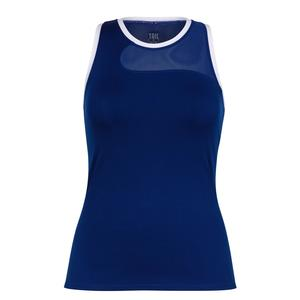 Women`s Evelyn Tennis Tank Blue Depths