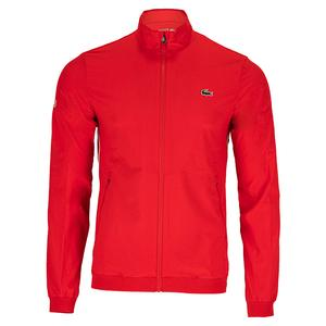 Men`s Novak Djokovic Textured Tennis Jacket