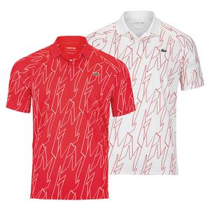 Men`s Novak Djokovic Ultra Dry All Over Print Small Croc Tennis Polo