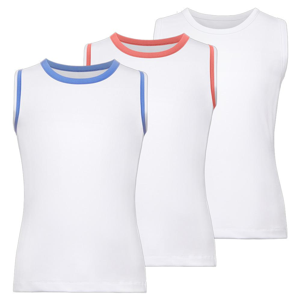 Girls ` Full Back Tennis Tank