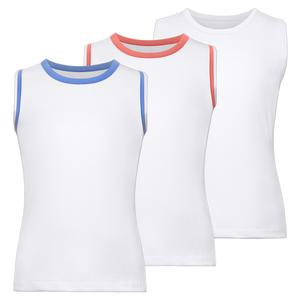 Girls` Full Back Tennis Tank
