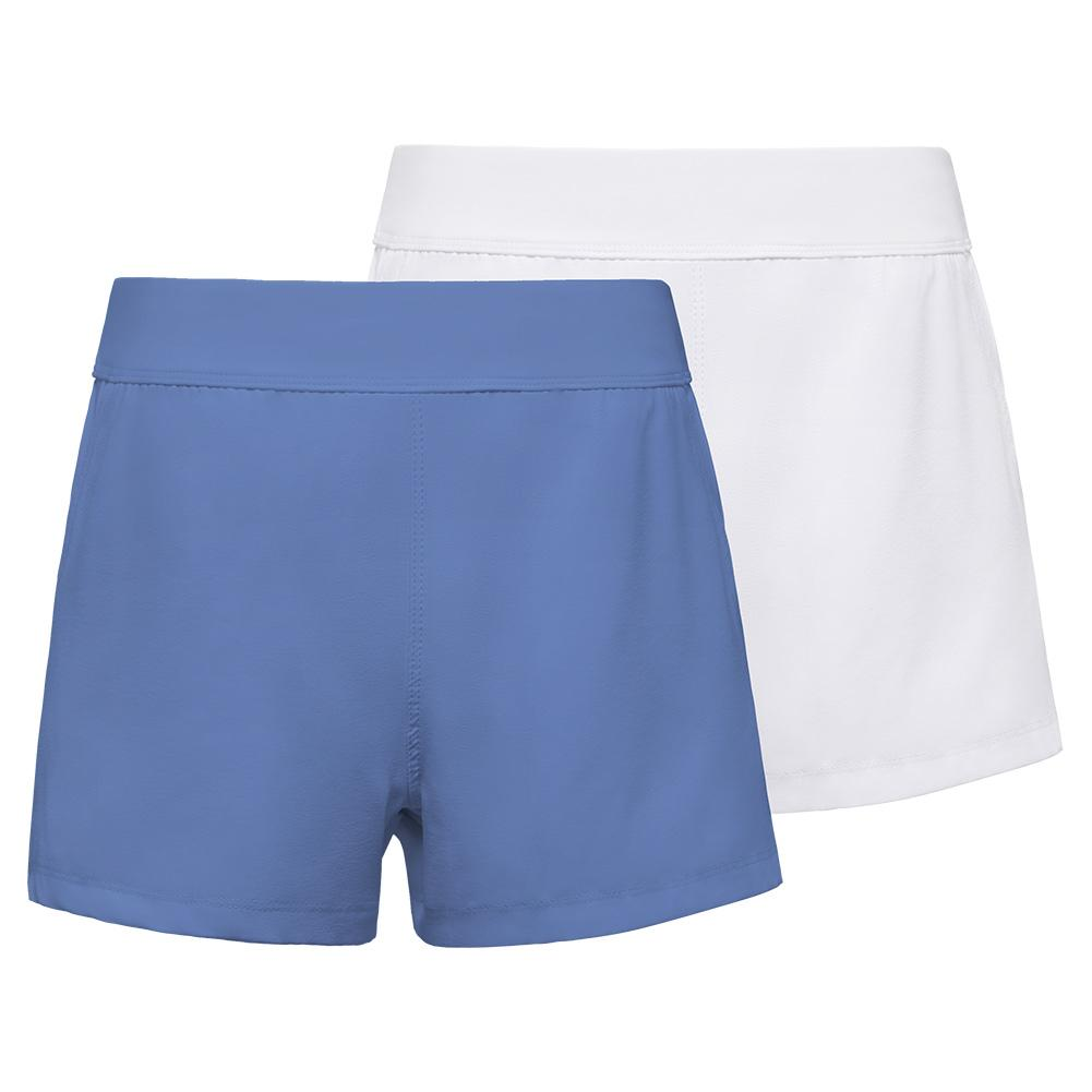 Girls ` Double Layer Tennis Short