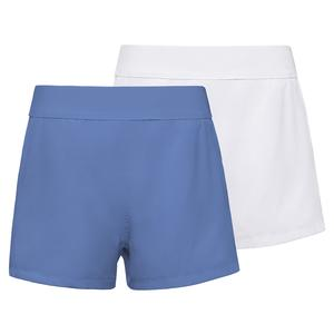 Girls` Double Layer Tennis Short