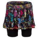 Girls` Mesh Pleated Tennis Skort 06955_LOVE