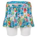 Girls` Mesh Pleated Tennis Skort 07955_TROPICALIA